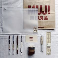 I have an unhealthy obsession with Muji...