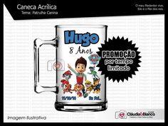 Caneca Acrílica de 350ml personalizada com tema da festa, impressão em adesivo vinil digital de alta qualidade transparente.   ***** Pedido Mínimo: 25 Unidades *****   Outros Temas Disponíveis: http://www.elo7.com.br/caneca-acrilica/al/7AF04 Elo7   Produtos Fora de Série www.elo7.com.br