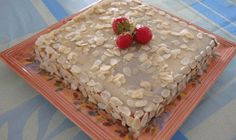 Gâteau au yaourt aux amandes - Recettes de cuisine faciles et simples   Recettee