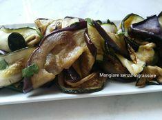 Zucchine+e+melanzane+grigliate+in+padella-superveloce