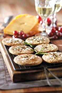 Rosmariinikeksit   K-Ruoka #leivonta #pikkuleivät
