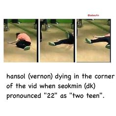 Vernon is lucky cuz everyday he gets to witness other seventeen members try to engrish