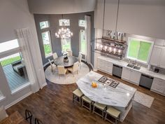 Designed by The Design Firm in Stafford, Texas #interiors #interiordesignideas #design #interiordesign #interiordesigners #diningroom #kitchen #openconcept