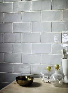 I love these rustic subway tiles. They'd look great in a kitchen. Forecast Cromarty www.firedearth.com/tiles/range/forecast/mode/grid