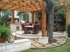 Texas Limestone U0026 Flagstone Patios In Austin. Custom Flagstone Patio Design  And Installations To Create Your Custom Outdoor Design At Home!