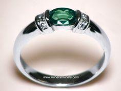 Alexandrite Jewelry - natural alexandrite earrings, alexandrite pendants, and alexandrite rings $1561.25
