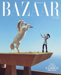 Emilia Clarke in  Harper's Bazaar