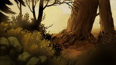 Nick Cross — Here's another couple of concept backgrounds done...