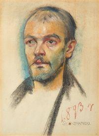 Portrait of a man by Stanislaw Wyspianski