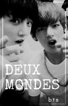 Deux mondes, écrit par Akira Hitan Bts Bg, Taehyung, Akira, Disorders, Movie Posters, Movies, Films, Film Poster, Cinema