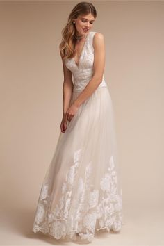 c9be0dfee2 BHLDN English Rose Gown in Bride Wedding Dresses A-Line