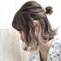 【レングス別】おしゃれ女子のパーティー華やか髪型アレンジ♡ in 2019 Shot Hair Styles, Long Hair Styles, Half Up Bun, Short Hair Bun, Hair Arrange, Aesthetic Hair, How To Make Hair, Bob Hairstyles, Cool Things To Make