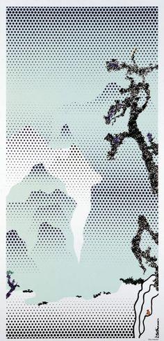 Coup de coeur : estampes japonaises par Roy Lichtenstein