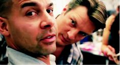 Nathan and Jon :D - castle Photo