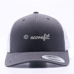 648dd860 Shop for Wholesale Yupoong Retro Charcoal White Trucker Hat Cap and Order  for Custom Design Logo and Custom Embroidery to Hats.