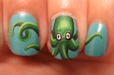 @Melissa Wood Octopus nails. But you could get in prettier colours