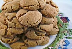 Gingersnaps (Soft & Chewy)- So delicious!! Need to roll in more sugar for extra texture and taste