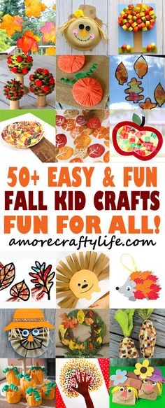 816 Best Fall Crafts And Activities For Kids Images Fall Crafts
