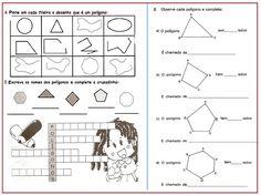 Atividade Avaliativa: Polígonos | Sala de Aula – Profª Rérida