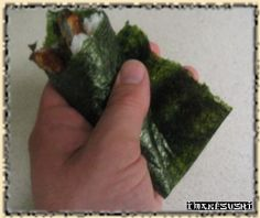Make hand roll sushi at home!