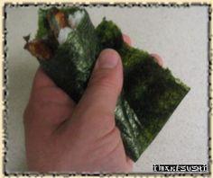 Make hand roll sushi at home!