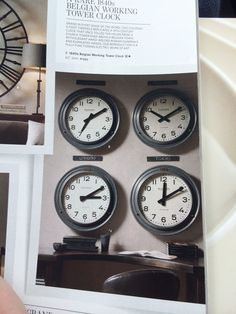 Office clocks without high cost