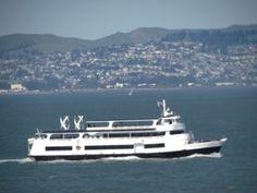 Alcatraz Clipper. Underway.