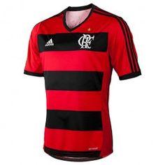 Camisa, Futebol, Adidas, Flamengo, l, Casa, 2013, Caixa, Peugeot - Loja Virtual