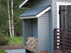 Väinämö, 20 Wood Storage, Country Style, Outdoor Gardens, Garage Doors, Shed, 1, Cottage, Backyard, Outdoors
