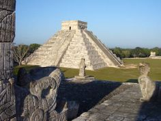 Chichen Itza, Mexico. Ancient Mayan and Toltec civilizations built great temples, palaces, and monuments at Chichen Itza on the Yucatán Peninsula in Mexico. UNESCO World Heritage Site.