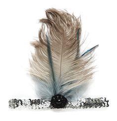 Tutu Du Monde Mockingbird Feather Headband
