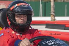 Alex is a gorgeous driver! He won the race dispite his lack of vision