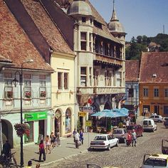 Pulled from #instagram #romania #sighisoara Romania, Street View, Instagram