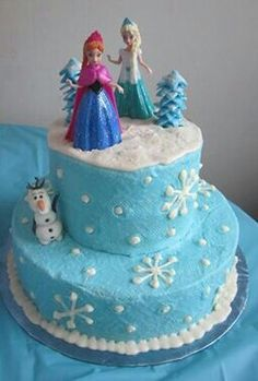 45 ideas birthday cake disney frozen party ideas for 2019 Disney Frozen Cake, Frozen Theme Cake, Frozen Birthday Cake, Birthday Cake Girls, Elsa Birthday Cake, 5th Birthday, Birthday Ideas, Happy Birthday, Frozen Cake Decorations
