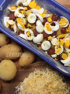 Ezentúl tuti így eszed a rakott krumplit! – Smuczer Hanna Ale, Food And Drink, Eggs, Breakfast, Morning Coffee, Ale Beer, Egg, Egg As Food, Ales