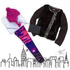 """""""A New York State Of Mind!!!  •Pon al día su armario con las prendas y accesorios más divertidos.• #Colibrí #OutfitOfTheDay #ZaraTerez #Leggings #TShirts…"""""""