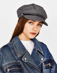 Gorra marinera Pork Pie Hat, Baker Boy Cap, Bobble Hats, Boater, Moda Online, Beret, Cowboy Hats, Sailor, Cute Pictures