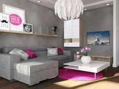 Projekt mieszkania dla singielki w Bielsku-Białej