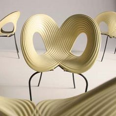 Arad ripple chair. Such a clever design