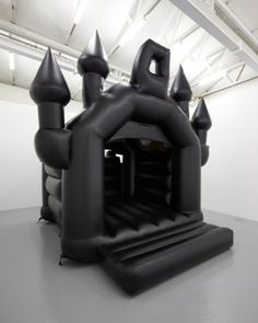 Look at this awesome bouncy castle! A gothic castle! How much fun is this for us adults! Bouncy House, Bouncy Castle, Dark Side, Goth Humor, Castle Parts, 3d Cinema, Gothic House, Gothic Castle, Gothic Room