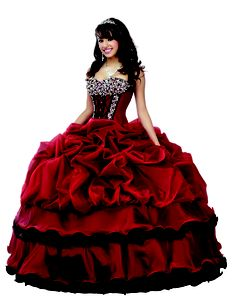 Snow White = Quinceanera Disney gowns