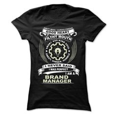 BRAND MANAGER T-Shirts, Hoodies. Get It Now ==► https://www.sunfrog.com/Funny/BRAND-MANAGER-95210201-Ladies.html?41382