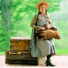 This is the original Anne of Green Gable series. Young Anne of Green Gables played by Megan Follows