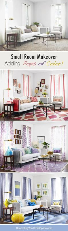 How to give your room a pop of color