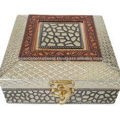 Source Antique FLOWER designed Wooden Handmade Wedding Box / Indian Gift Box on m.alibaba.com Marriage Box, Marriage Gifts, Return Gifts Indian, Mithai Boxes, Dry Fruit Box, Indian Wedding Gifts, Wooden Gift Boxes, Wedding Gift Boxes, Antique Boxes