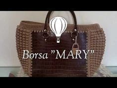 "Borsa ""Mary""/Crochet Bag/borsa uncinetto/Mary Bag - YouTube"