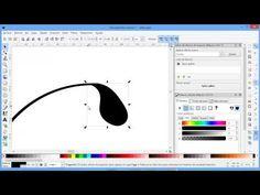 (39) Motivos Florales en Inkscape - YouTube