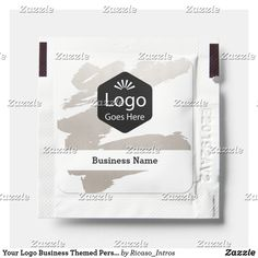 Your Logo Business Themed Personalized Hand Sanitizer Packet