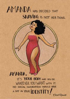 Illustration from the Woman Project by Carol Rossetti.