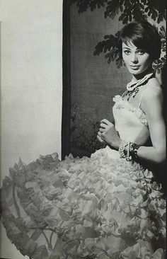 1958 - Chanel gown